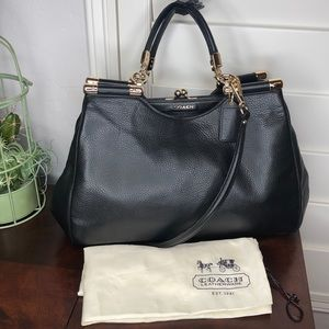Coach Carrie Madison Leather Bag